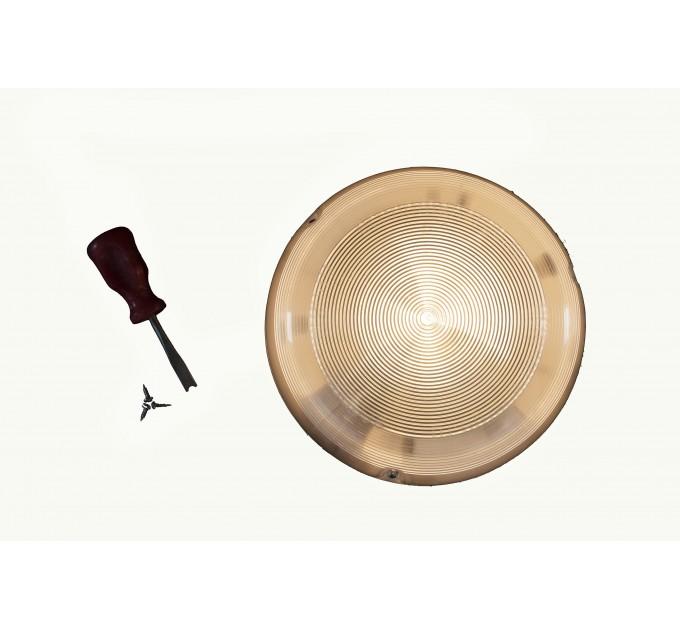 Светильник ЖКХ с оптико акустическим датчиком НББ 03-60