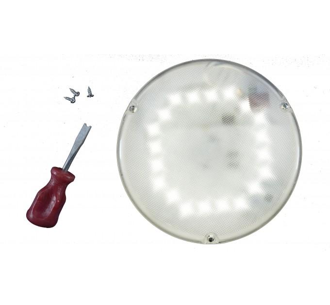 Светильник с оптико-акустическим датчиком светодиодный LED СББ 06-16