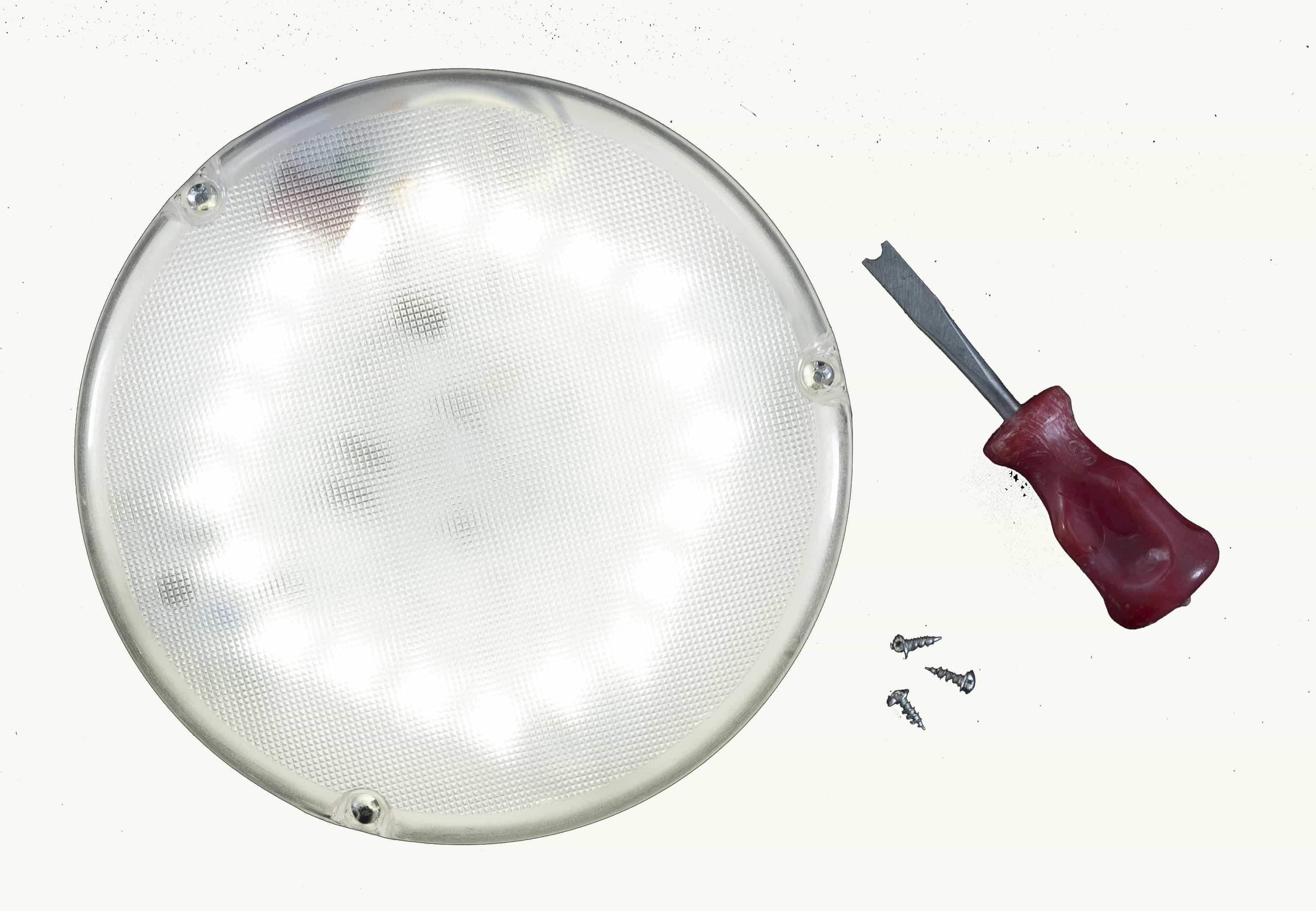 Светильник с оптико-акустическим датчиком СБЕРЭНЕРГО